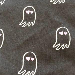 JCrew Crewcuts black ghost hoodie